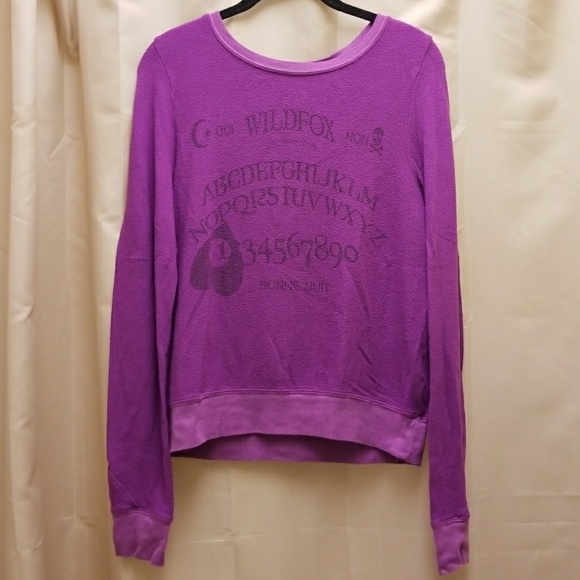 e4be02a6b0 Wildfox Tops | Ouija Girl Baggy Beach Jumper | Poshmark